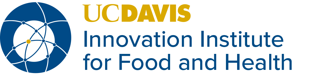 Innovation Institute for Food & Health Logo and word mark
